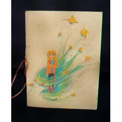 Libreta artesanal. Portada: Outono