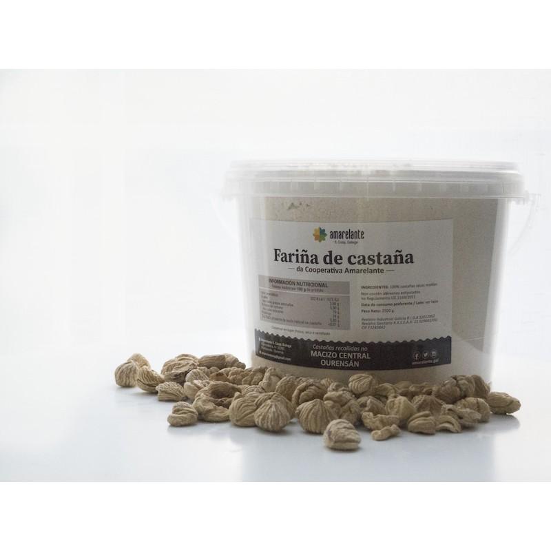 Fariña de Castaña. 2,5 kg